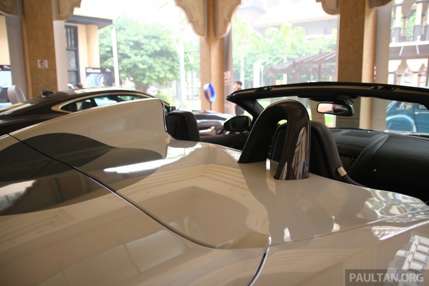 GALLERY: Jaguar F-Type Project 7 on display in Malaysia – legendary XJ220 supercar also on show Image #387434