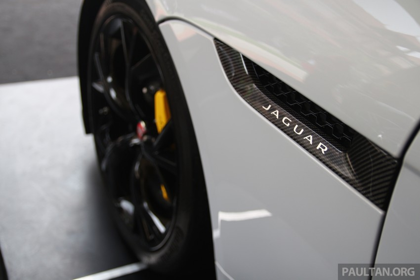GALLERY: Jaguar F-Type Project 7 on display in Malaysia – legendary XJ220 supercar also on show Image #387436