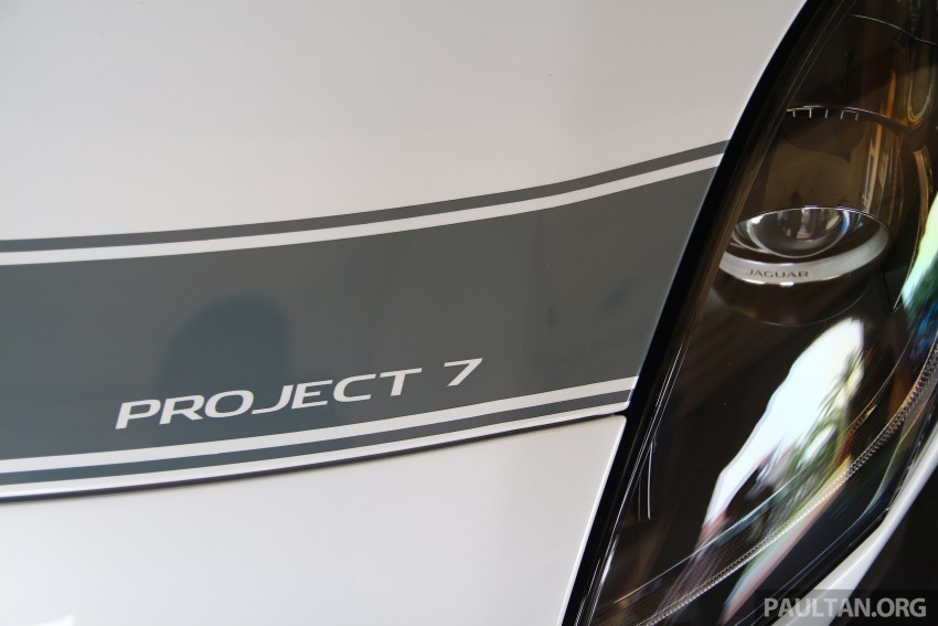 GALLERY: Jaguar F-Type Project 7 on display in Malaysia – legendary XJ220 supercar also on show Image #387439