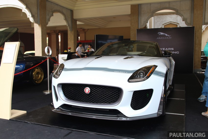 GALLERY: Jaguar F-Type Project 7 on display in Malaysia – legendary XJ220 supercar also on show Image #387440