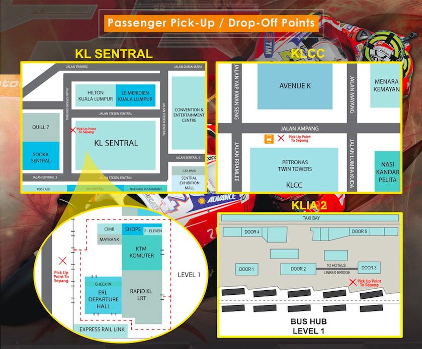 2015 Malaysian MotoGP spectators encouraged to take RapidKL buses to Sepang International ...