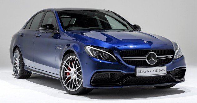 mercedes amg c63 s launched in msia from rm699k. Black Bedroom Furniture Sets. Home Design Ideas