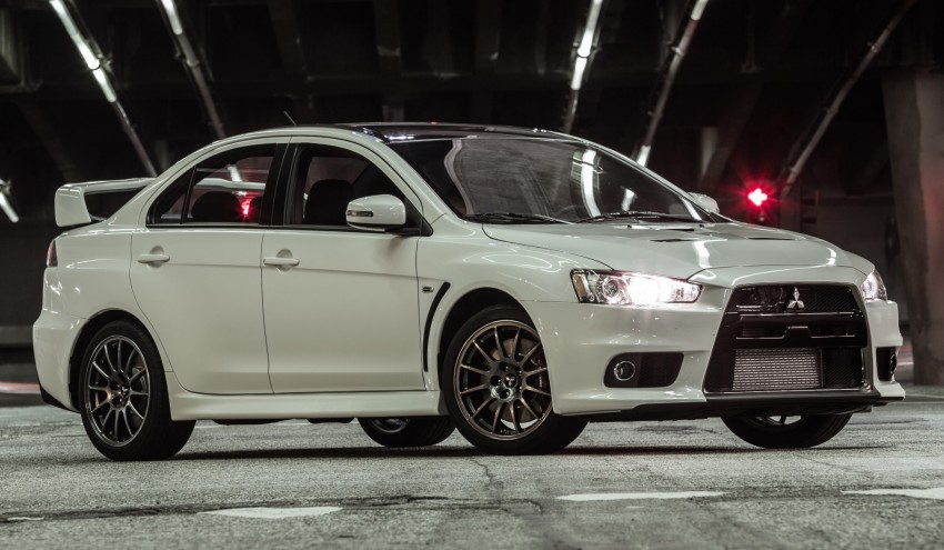 Farewell to Mitsubishi Evo X with 303 hp Final Edition Image #388265