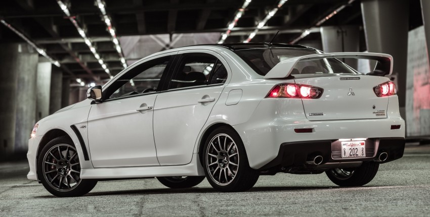Farewell to Mitsubishi Evo X with 303 hp Final Edition Image #388266