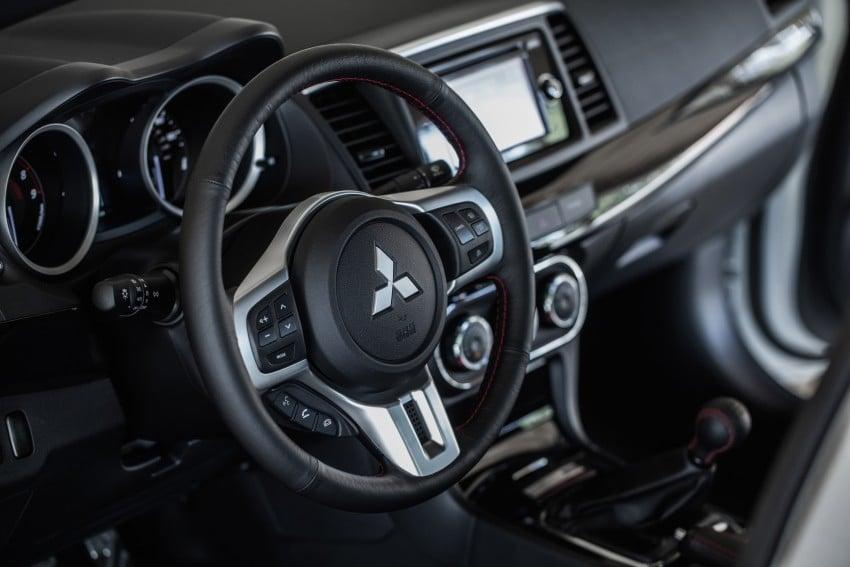 Farewell to Mitsubishi Evo X with 303 hp Final Edition Image #388269