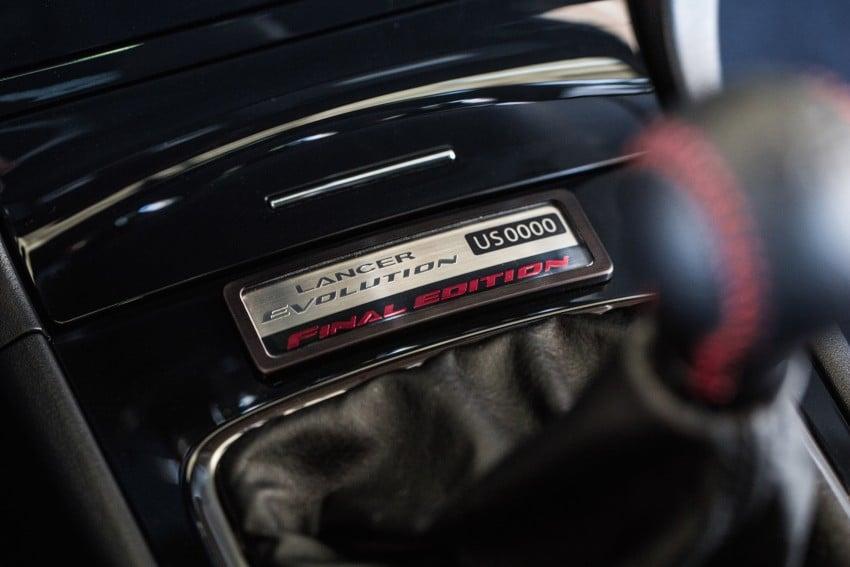 Farewell to Mitsubishi Evo X with 303 hp Final Edition Image #388271