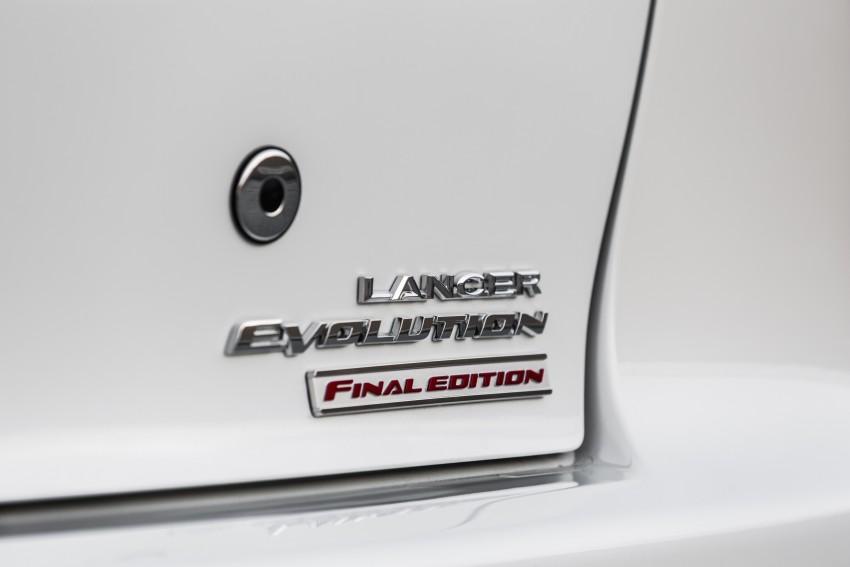 Farewell to Mitsubishi Evo X with 303 hp Final Edition Image #388282