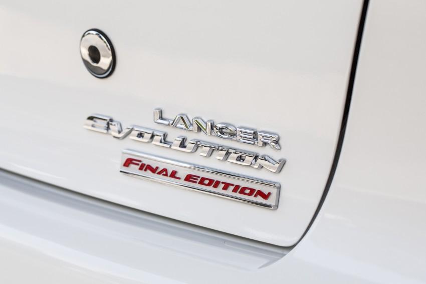 Farewell to Mitsubishi Evo X with 303 hp Final Edition Image #388283