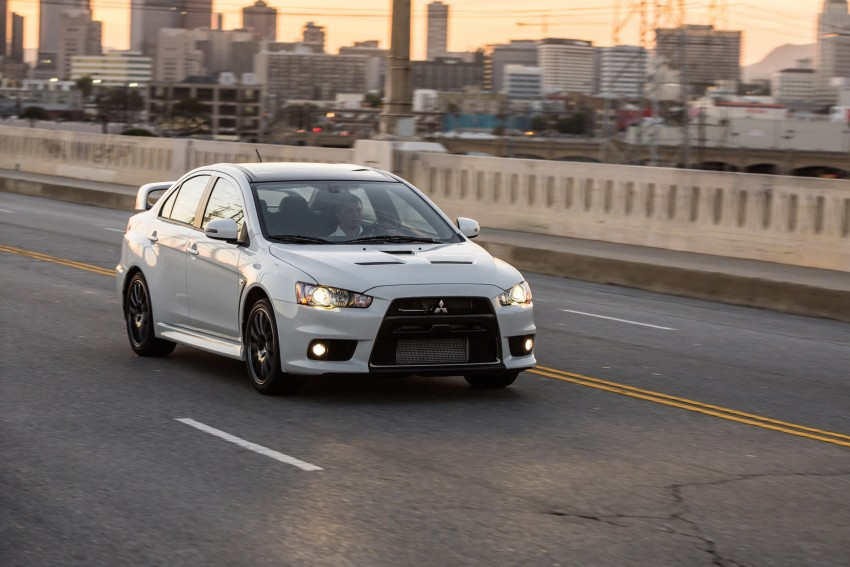 Farewell to Mitsubishi Evo X with 303 hp Final Edition Image 388285