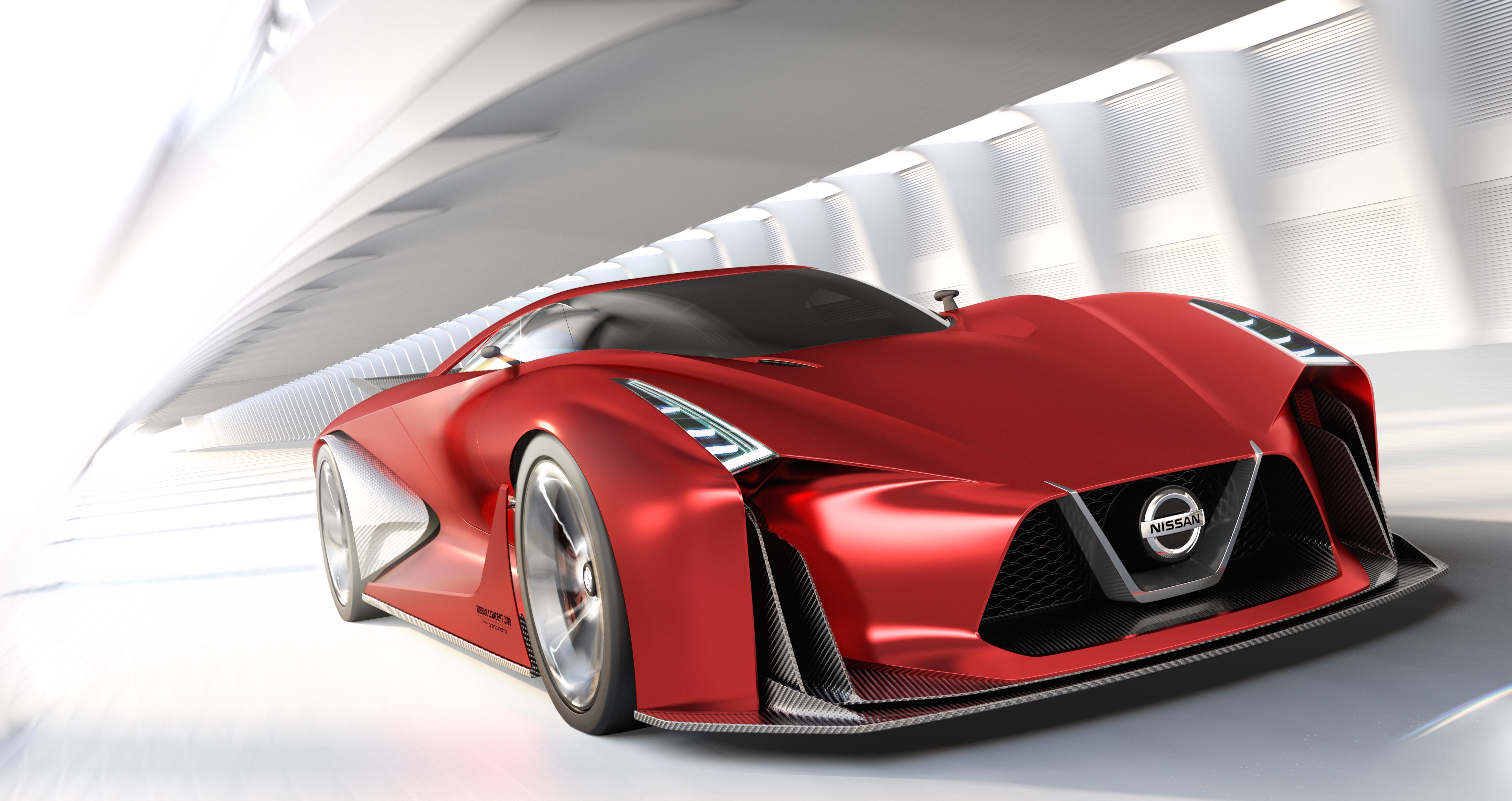 Nissan Concept 2020 Vision Gran Turismo – hot in red Image ...