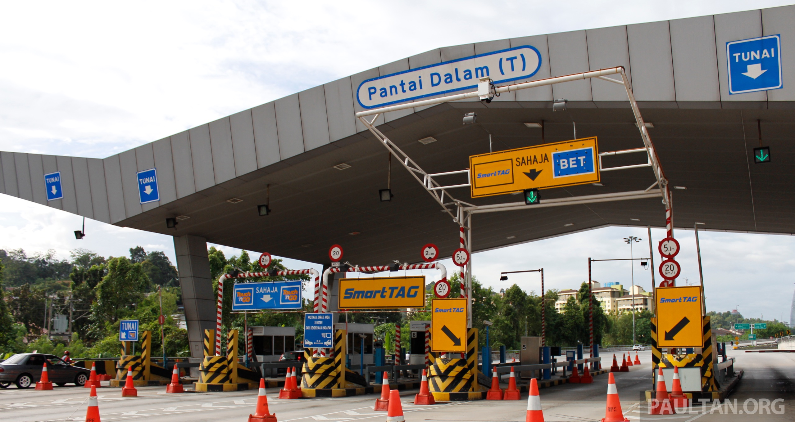Virginia Tax Calculator >> 10 toll plazas to go fully cashless by January 13, 2016
