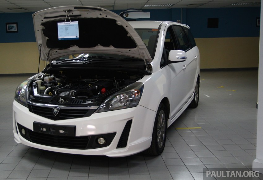Proton Iriz and Exora 1.3 turbo, six-speed manual prototypes with 140 hp and 190 Nm previewed Image #387743
