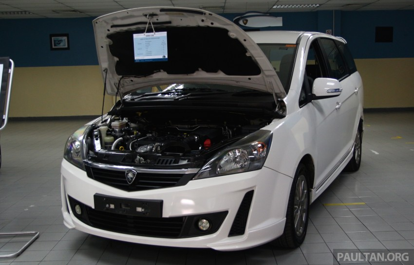 Proton Iriz and Exora 1.3 turbo, six-speed manual prototypes with 140 hp and 190 Nm previewed Image #387765