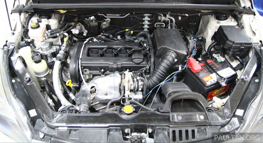 Proton Iriz and Exora 1.3 turbo, six-speed manual prototypes with 140 hp and 190 Nm previewed Image #387746