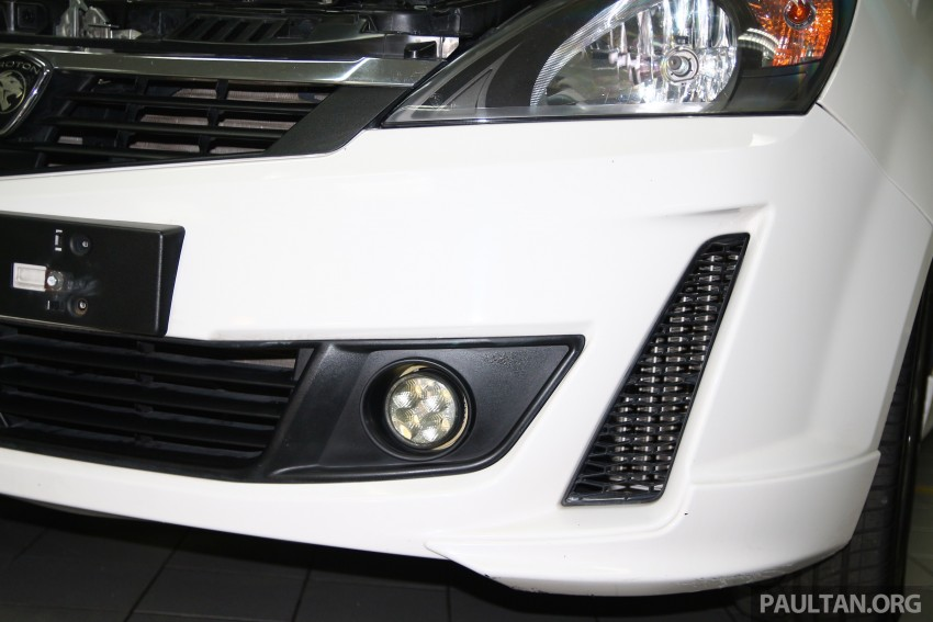 Proton Iriz and Exora 1.3 turbo, six-speed manual prototypes with 140 hp and 190 Nm previewed Image #387752