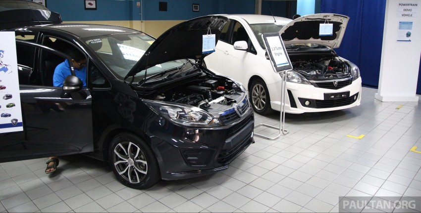 Proton Iriz and Exora 1.3 turbo, six-speed manual prototypes with 140 hp and 190 Nm previewed Image #387738