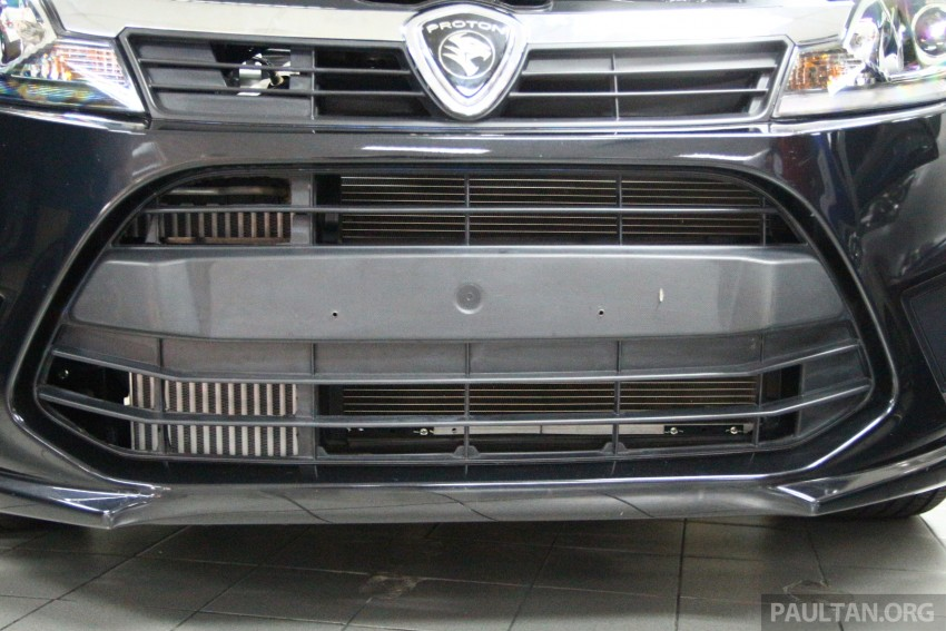 Proton Iriz and Exora 1.3 turbo, six-speed manual prototypes with 140 hp and 190 Nm previewed Image #387739