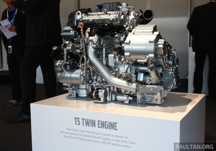 Volvo details new 1.5 litre, three-cyl T5 Twin Engine, seven-speed DCT for future XC40 SUV, V40 hatch Image #398780