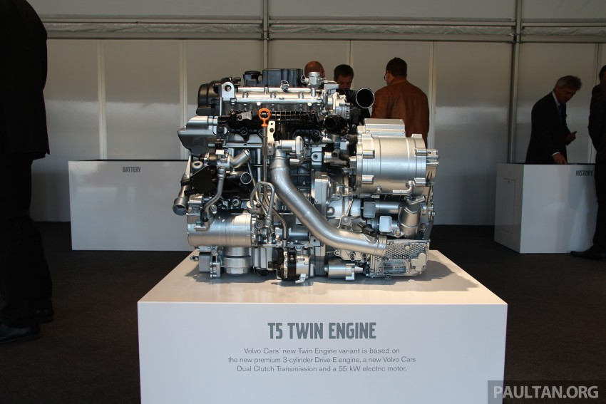 Volvo details new 1.5 litre, three-cyl T5 Twin Engine, seven-speed DCT for future XC40 SUV, V40 hatch Image #398786