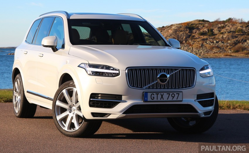 DRIVEN: Volvo XC90 T8 Twin Engine PHEV in Sweden Image #399313