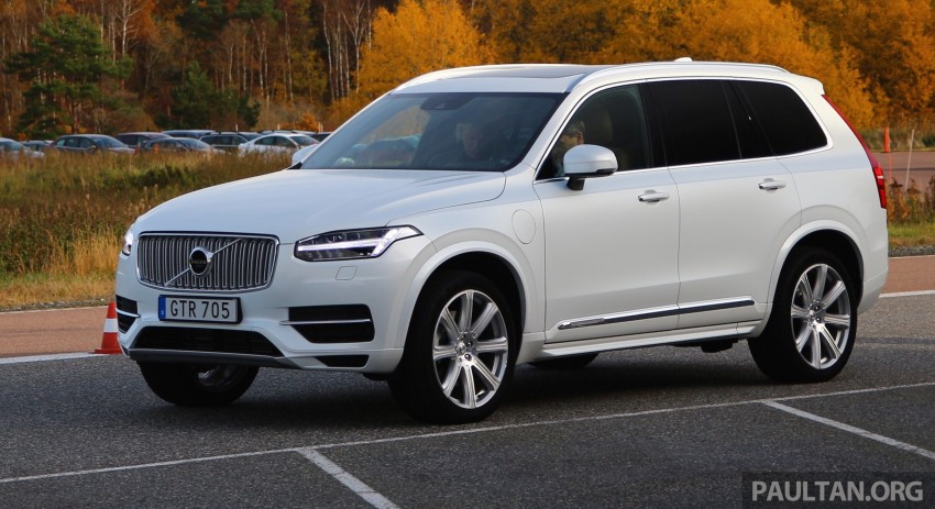 DRIVEN: Volvo XC90 T8 Twin Engine PHEV in Sweden Image #399315