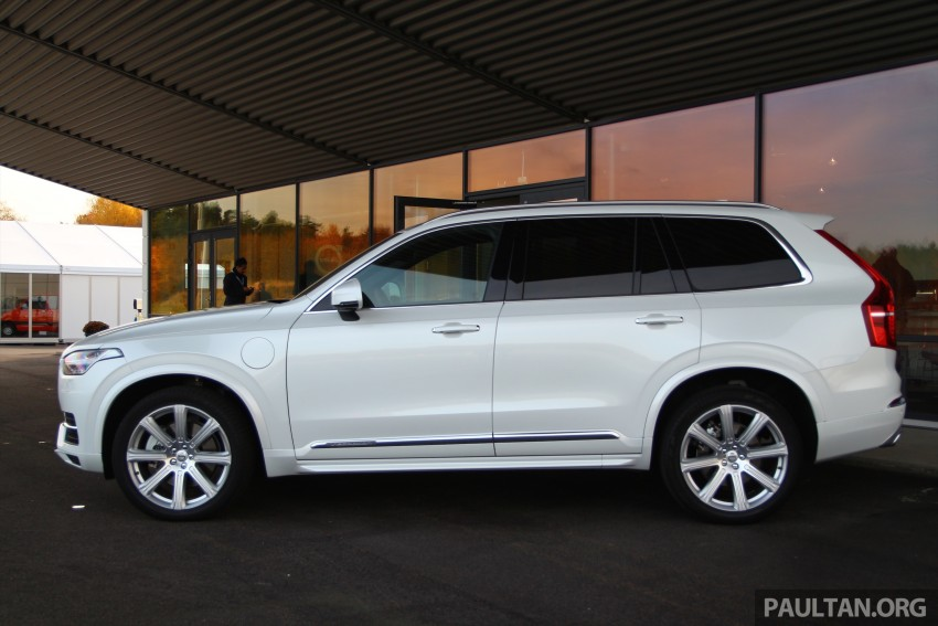 DRIVEN: Volvo XC90 T8 Twin Engine PHEV in Sweden Image #399316