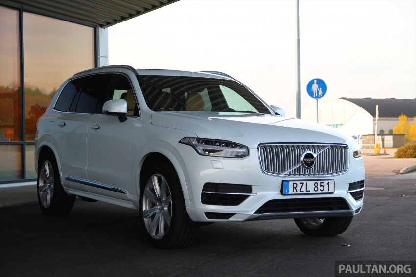 DRIVEN: Volvo XC90 T8 Twin Engine PHEV in Sweden Image #399317