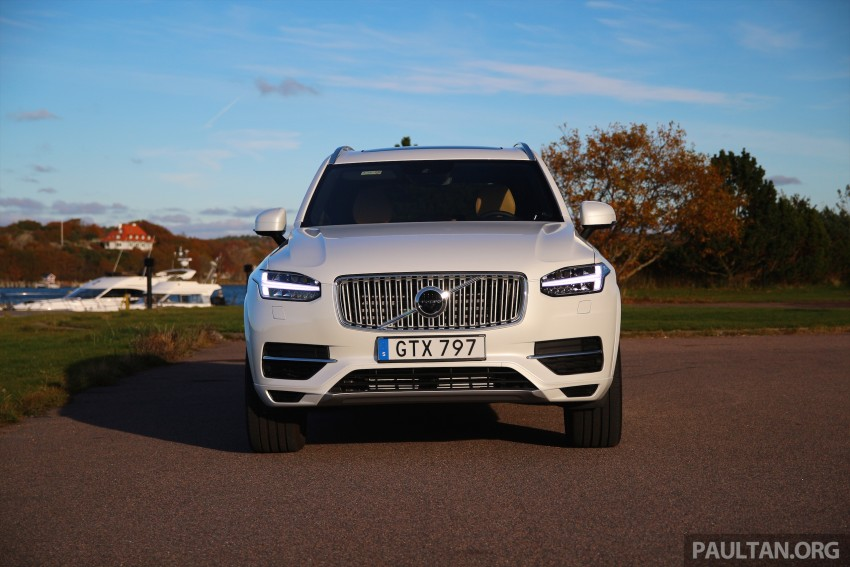 DRIVEN: Volvo XC90 T8 Twin Engine PHEV in Sweden Image #399318