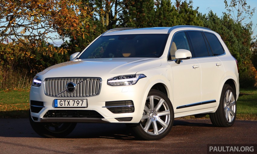 DRIVEN: Volvo XC90 T8 Twin Engine PHEV in Sweden Image #399319