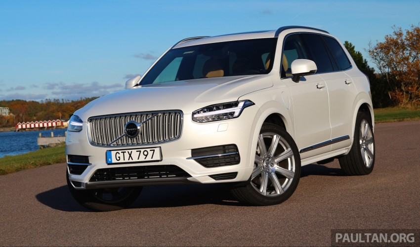 DRIVEN: Volvo XC90 T8 Twin Engine PHEV in Sweden Image #399323