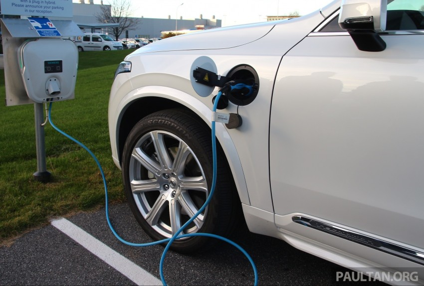 DRIVEN: Volvo XC90 T8 Twin Engine PHEV in Sweden Image #399337