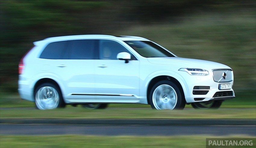 DRIVEN: Volvo XC90 T8 Twin Engine PHEV in Sweden Image #399577