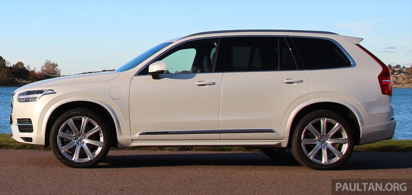 DRIVEN: Volvo XC90 T8 Twin Engine PHEV in Sweden Image #399580