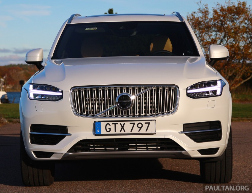 DRIVEN: Volvo XC90 T8 Twin Engine PHEV in Sweden Image #399581