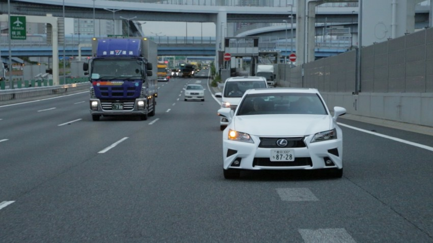 VIDEO: We experience Toyota's Highway Teammate autonomous driving tech in a modified Lexus GS Image #400669