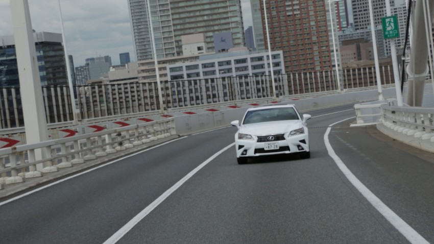 VIDEO: We experience Toyota's Highway Teammate autonomous driving tech in a modified Lexus GS Image #400667