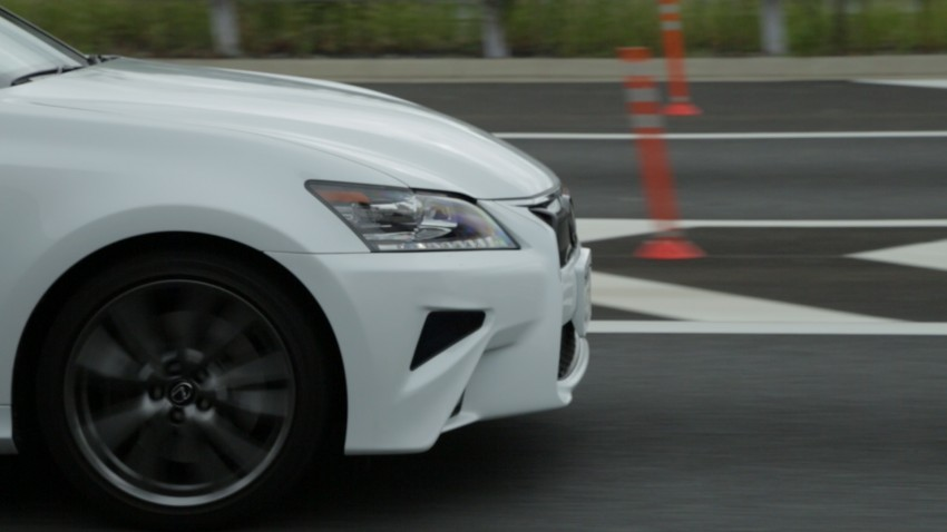 VIDEO: We experience Toyota's Highway Teammate autonomous driving tech in a modified Lexus GS Image #400662
