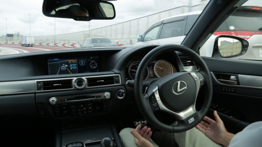 VIDEO: We experience Toyota's Highway Teammate autonomous driving tech in a modified Lexus GS Image #400655