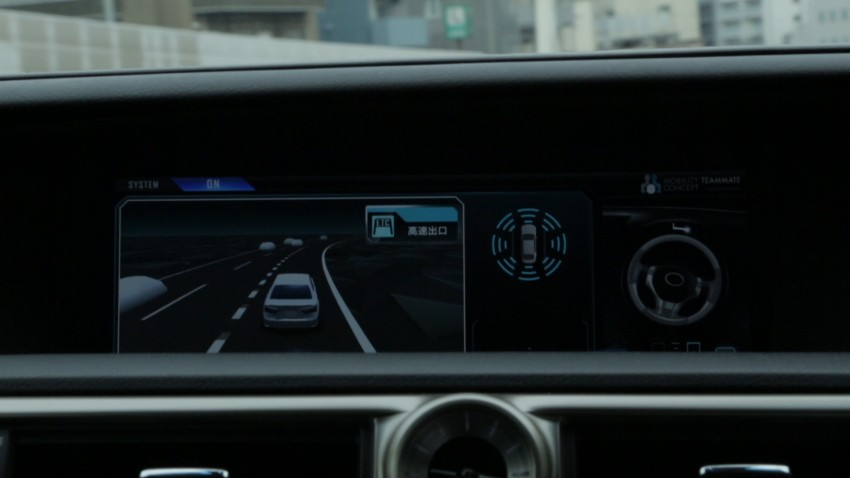VIDEO: We experience Toyota's Highway Teammate autonomous driving tech in a modified Lexus GS Image #400653