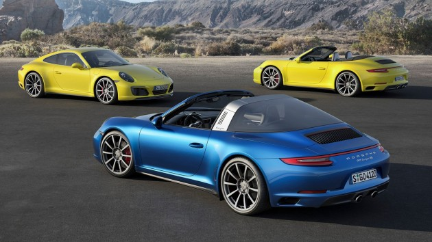 2016 Porsche 911 Carrera 4 Targa 4 Awd Revealed