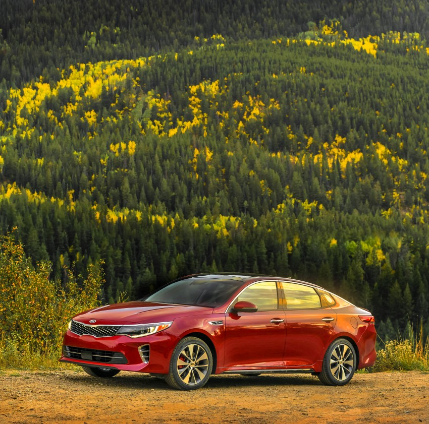 GALLERY: 2016 Kia Optima goes on sale in the US Image #392690