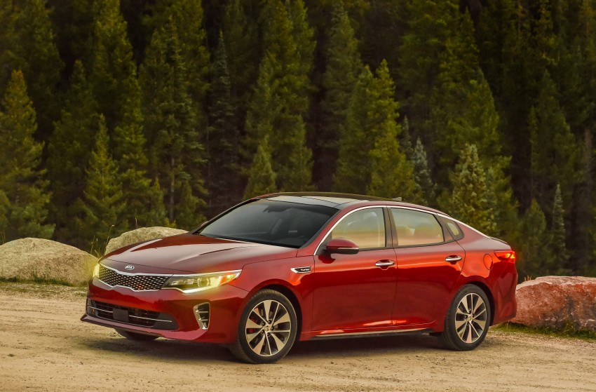 GALLERY: 2016 Kia Optima goes on sale in the US Image #392700