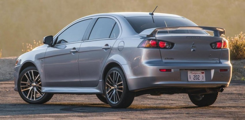 2016 Mitsubishi Lancer facelift unveiled in the US Image #385998
