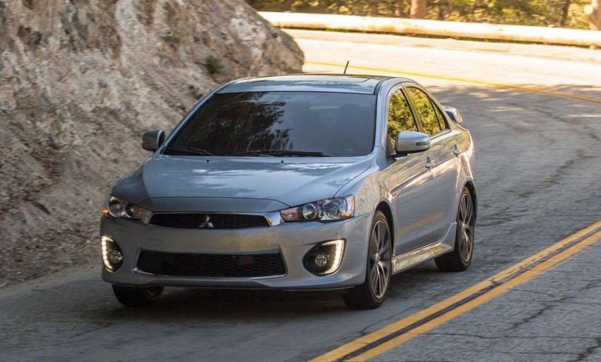 2016 Mitsubishi Lancer facelift unveiled in the US Image #386001