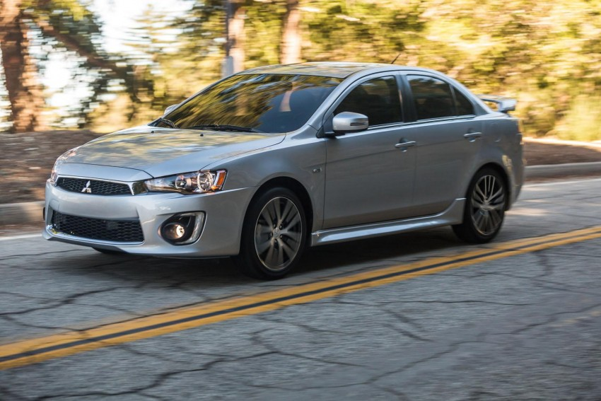 2016 Mitsubishi Lancer facelift unveiled in the US Image #386002