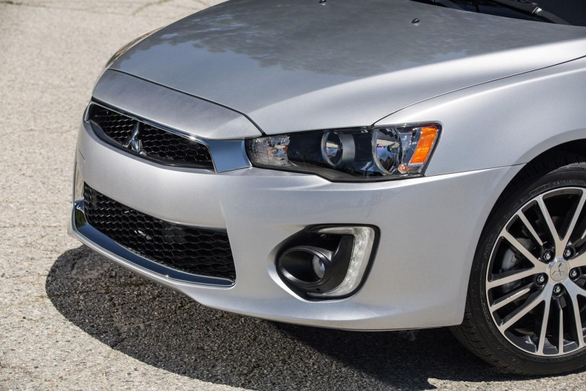 2016 Mitsubishi Lancer facelift unveiled in the US Image #386004