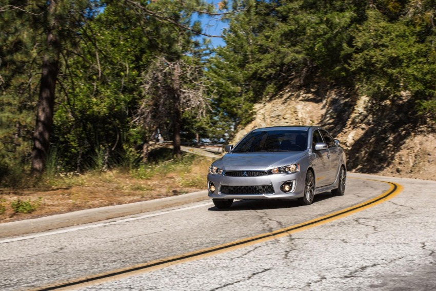 2016 Mitsubishi Lancer facelift unveiled in the US Image #386008
