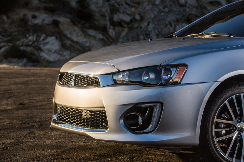 2016 Mitsubishi Lancer facelift unveiled in the US Image #386009