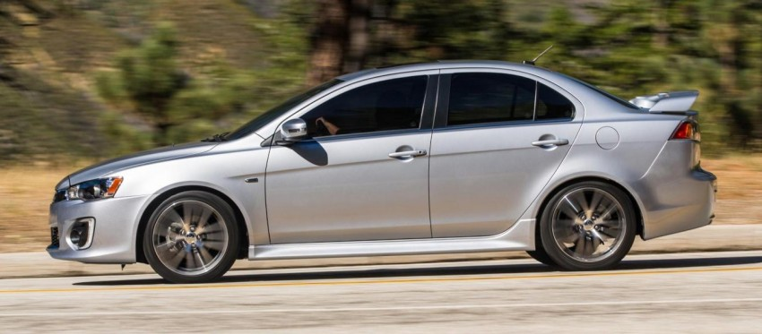 2016 Mitsubishi Lancer facelift unveiled in the US Image #386010