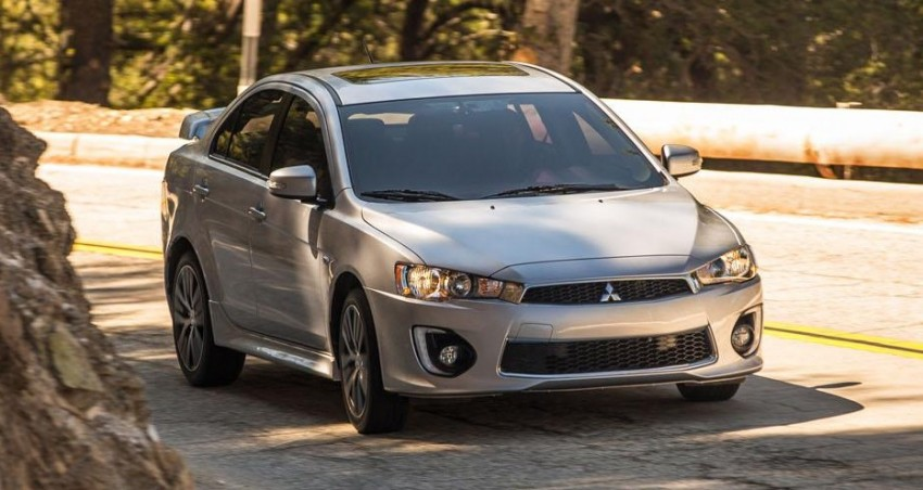 2016 Mitsubishi Lancer facelift unveiled in the US Image #386016